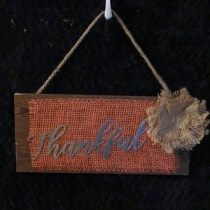 Handmade Rustic Wooden Fall Sign